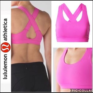 Lululemon All Sports Bra Hot Pink